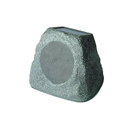ION Audio Solar Stone   Wireless Solar-Rechargeable Garden Speaker (Single)