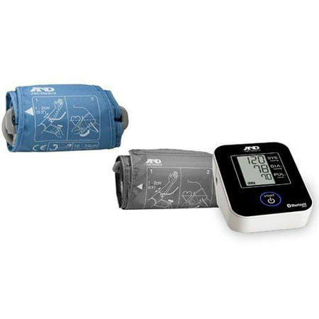 Lifesource UA-651BLE Deluxe Medium Cuff Bluetooth Blood Pressure Monitor with Bo