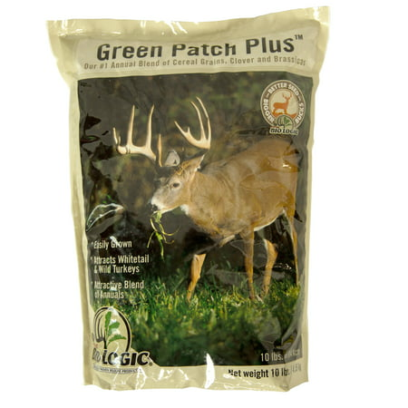 Mossy Oak BioLogic Green Patch Plus Food Plot Seed for (Easy To Grow Food Plots For Deer)