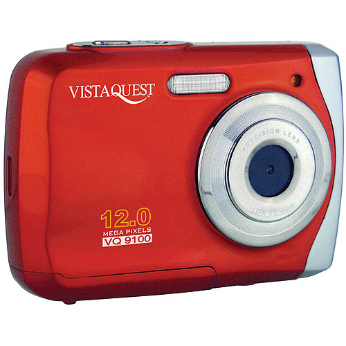 VistaQuest VQ9100R VQ-9100 12MP WP Cam Red