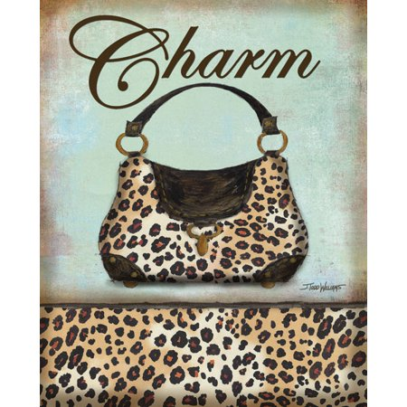 Exotic Purse II - Mini Fashion Print Trendy Cool Animal Cute Cheetah Trendy Fashion Home Decor 8X10](Animal Print Decor)