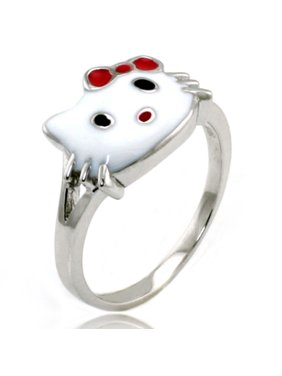 739feb66e Product Image Sterling Silver Hello Kitty Gloss Promise Ring