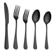 Stainless Steel Tableware Set - Stainless Steel Flatware Set - Flatware Cutlery Set - 5PCS Stainless Steel Tableware Cutlery Set Flatware Set Dinnerware Set Kitchen Cutlery Eating Utensils