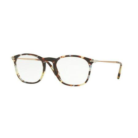 9c576755a7 Eyeglasses Persol PO 3124 V 1058 HAVANA AZURE BROWN - Walmart.com