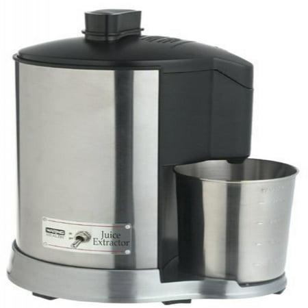 Waring Pro Health 400 Watt Juice Extractor Features Extra Wide Feed