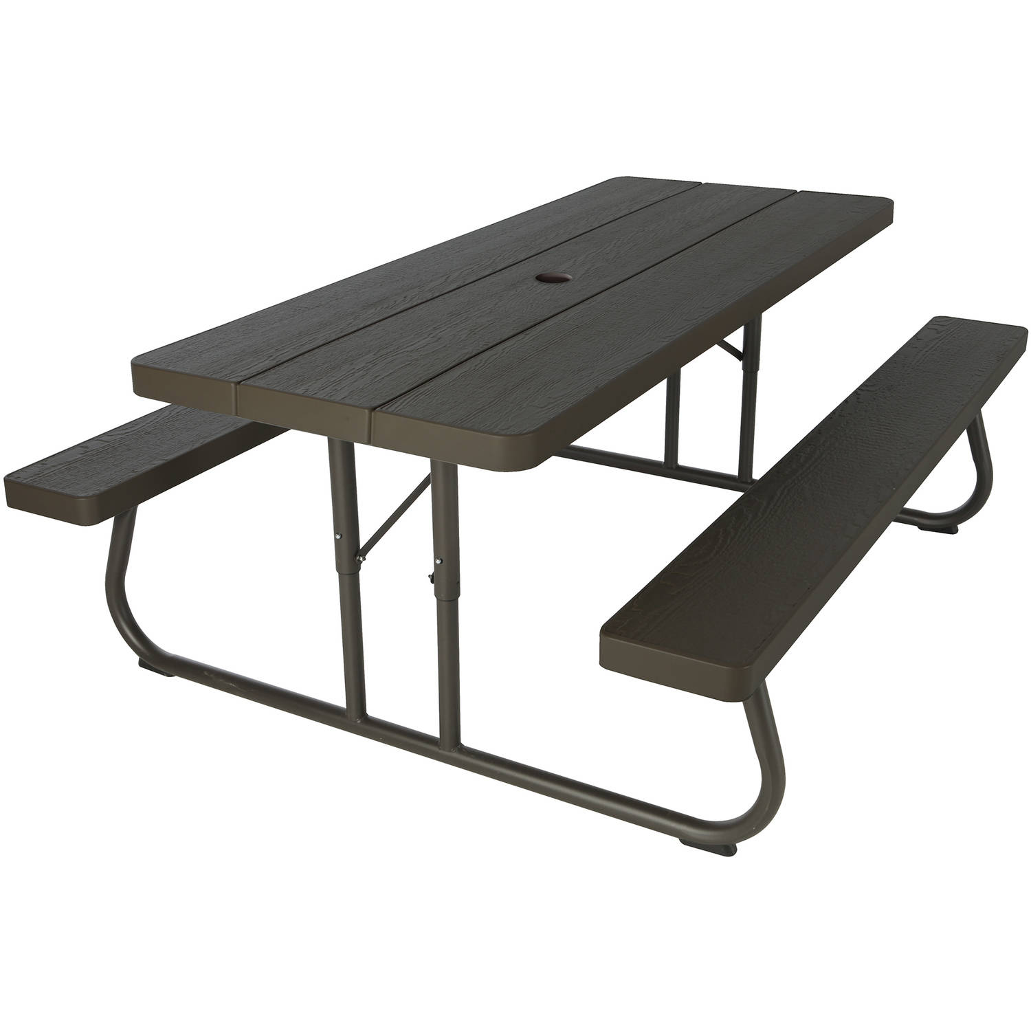 Lifetime 6' Picnic Table, Brown