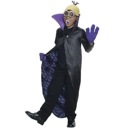 Minion Dracula Child Costume