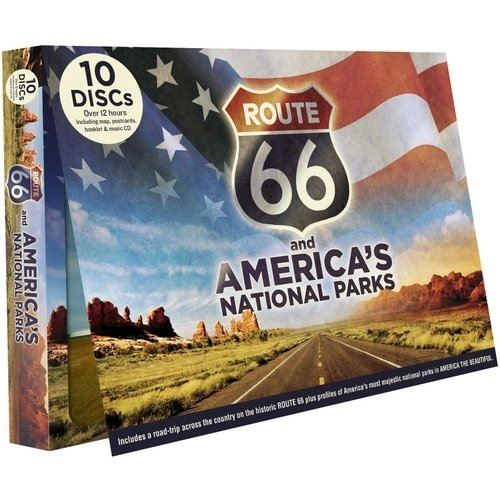 Route 66 And America's National Parks (With CD)