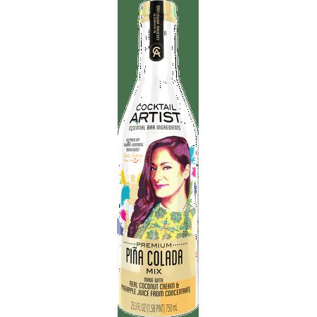Cocktail Artist Pina Colada Mix, - Strawberry Pina Colada