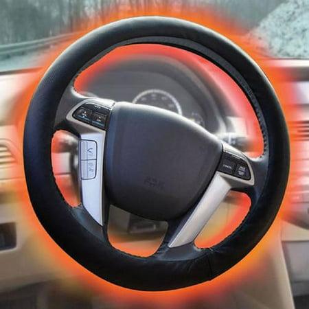 (Sharper Image Heated Steering Wheel Cover)