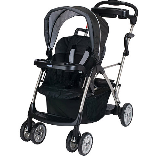 Graco - RoomFor2 Stand and Ride Double Stroller, Metropolis