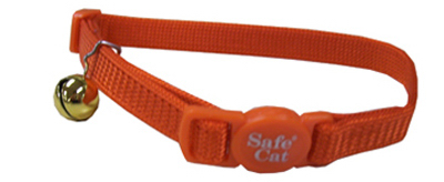 Adjustable Breakaway Cat Collar, Orange by COASTAL PET PRODUCTS, INC.