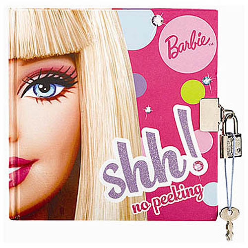 "Amscan Barbie Diary Birthday Party Favor Giveaway (1 Piece), 6"" x 6"", Multicolor"