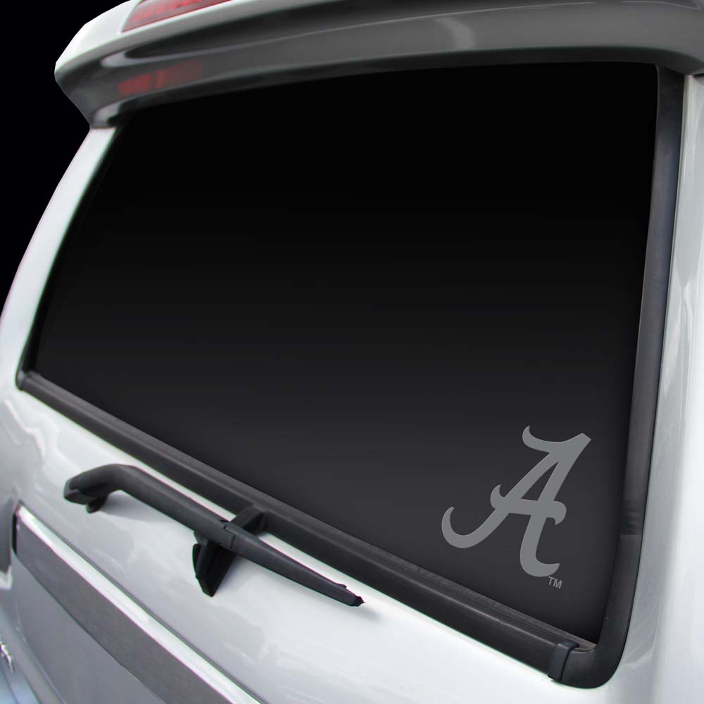 Alabama Crimson Tide Chrome Window Graphic Decal by Rico Industries