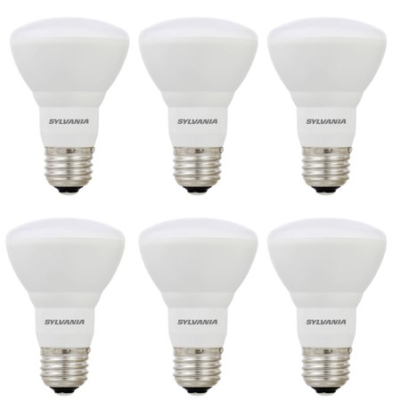 Dimmable R20 Cfl (Sylvania R20 35W Energy Saving Dimmable Soft White LED Flood Light Bulb (6)