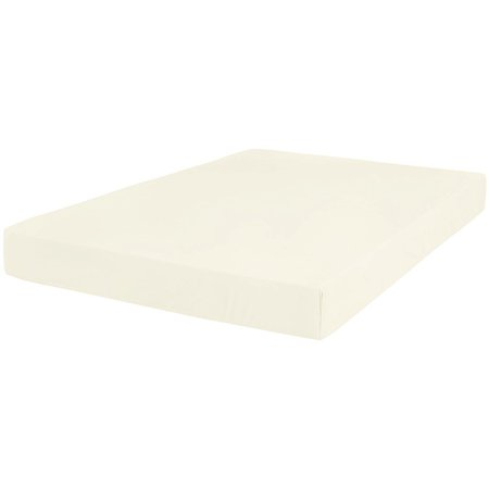 The Great American Store 600 TC 100% Cotton Solid Fitted Sheet(With 15