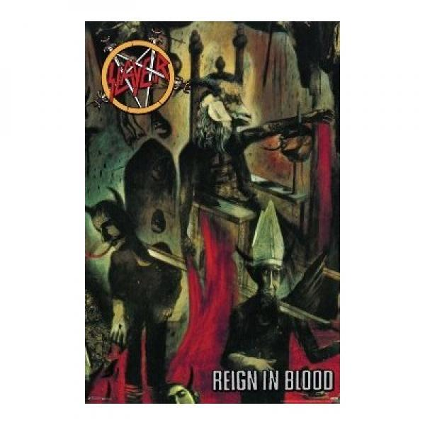 Slayer - Reign in Blood Poster Art Print (24x36)