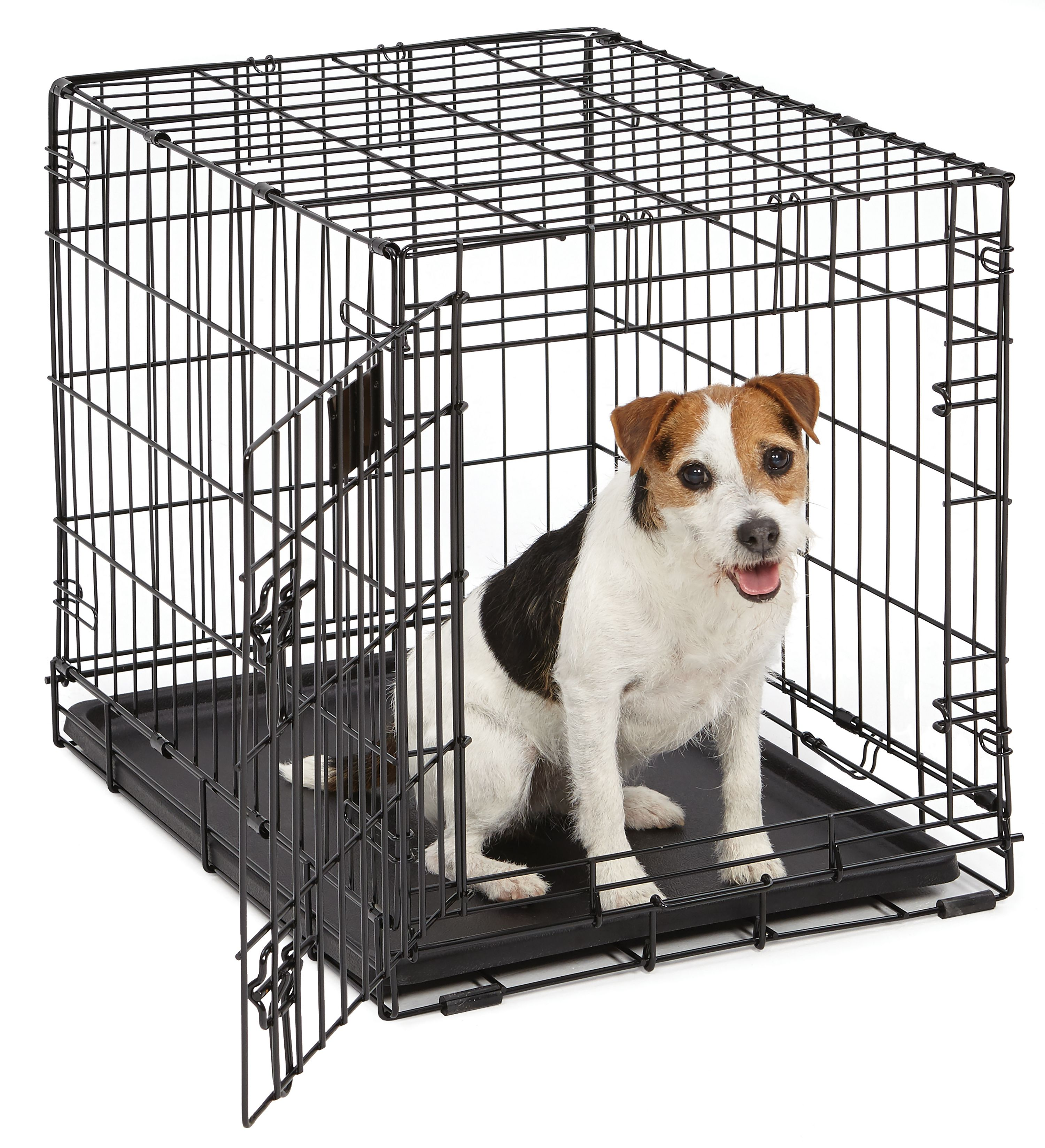 "Midwest 24"" Life Stages Single Door Dog Crate"