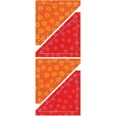 - GO! This & That Fabric Cutting Dies-Half Square 2-1/4