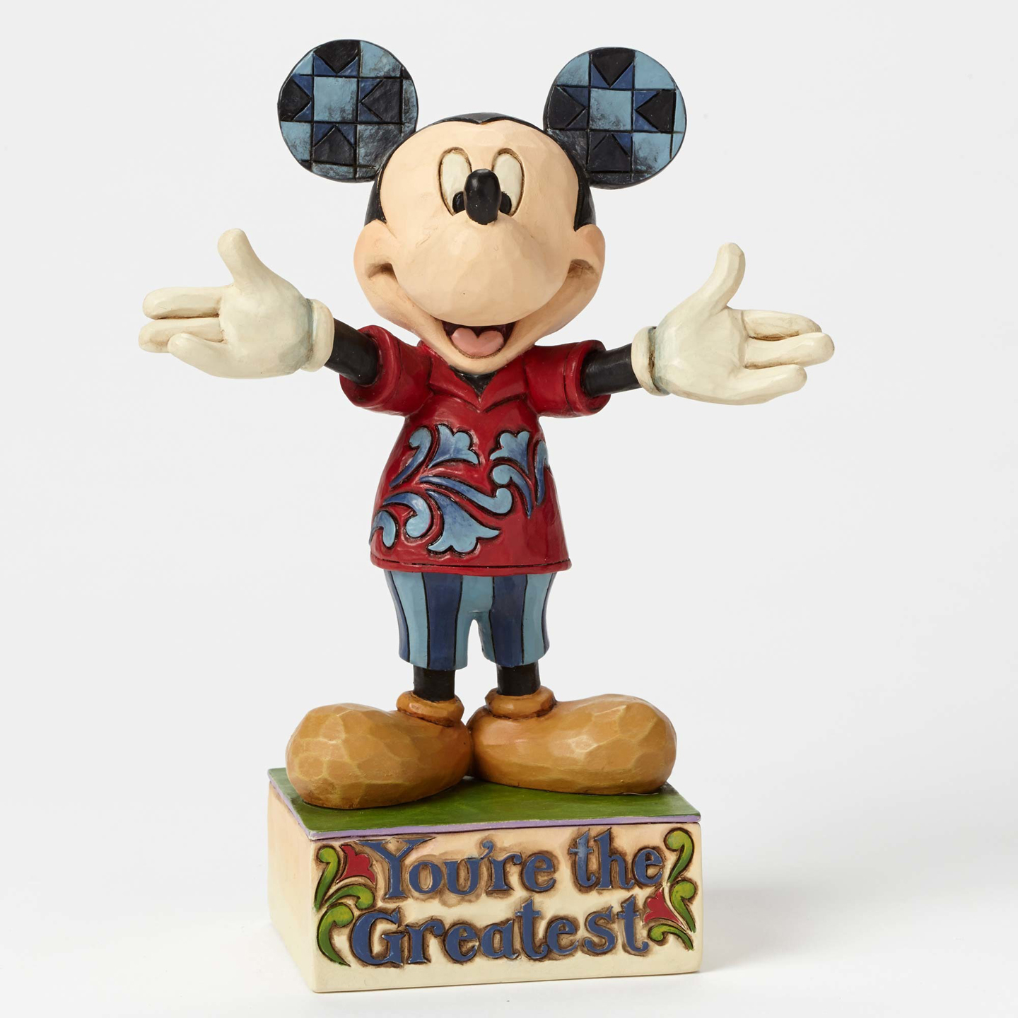 Jim Shore Disney Dad Mickey Mouse 4049637 New 2015