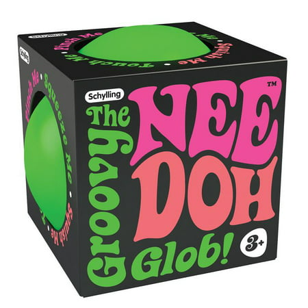 Nee Doh - The Groovy Glob (Colors Vary) - Novelty Toy by Schylling - Snow Glowbz