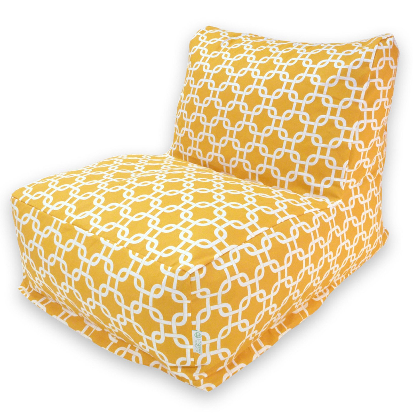 Majestic Home Goods Links Outdoor Bean Bag Chair Lounger