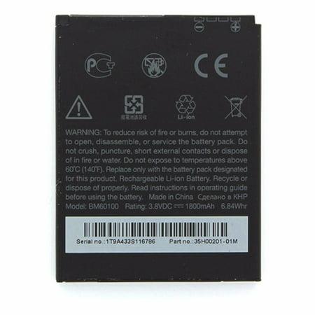 HTC Rechargeable 1,800mAh OEM Battery (BM60100) for HTC One SV - image 1 de 2