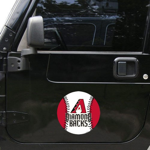 Arizona Diamondbacks Team Logo Car Magnet