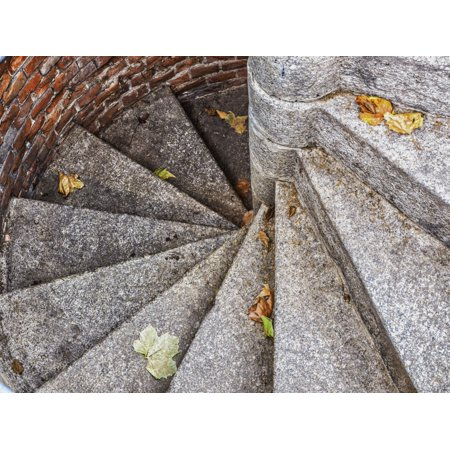 Posterazzi DPI12270891 Steps Descending To Portion of Vienna Sewer System Where The Third Man Was Filmed - Vienna Austria Print - 17 x 13 - Austrian Film