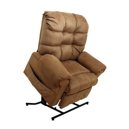 - Catnapper Omni 4827 Power Full Lay-Out Large Heavy Duty Lift Chair Recliner 450 lb Capacity - Saddle with In-Home Delivery and Setup