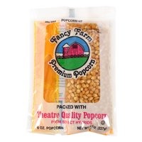 (Price/Pack)Commodity Popcorn 4050-06 Popcorn Cash & Carry Tray Pack 8 Ounce 3-15-8 Ounce