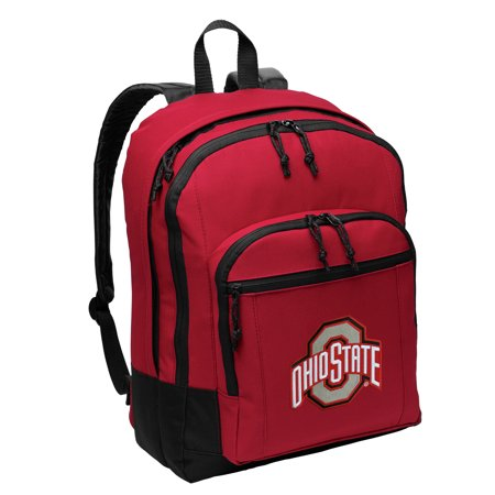 Ohio State University Backpack MEDIUM SIZE OSU Buckeyes Backpacks & School Bags
