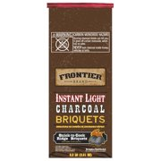 Frontier 198-330-128 6.2 lbs Instant Light Charcoal Briquets