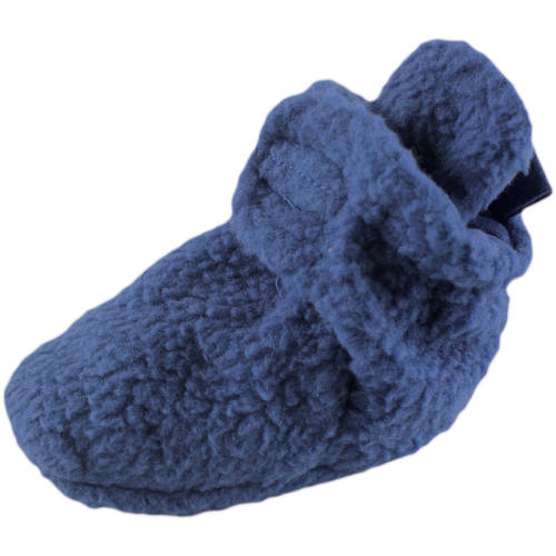 Luvable Friends Newborn Baby Boys Scooties Fleece Booties