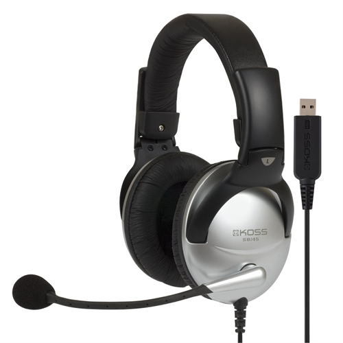 Koss SB45 USB Communication Headsets 178203
