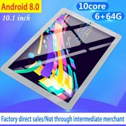 11.6inch 6G+64G WiFi Tablet Android 8.0 HD 1960 x 1080 Bluetooth Game Tablet Computer With Dual Camera Support Dual SIM Card And Dual Sandby Gold
