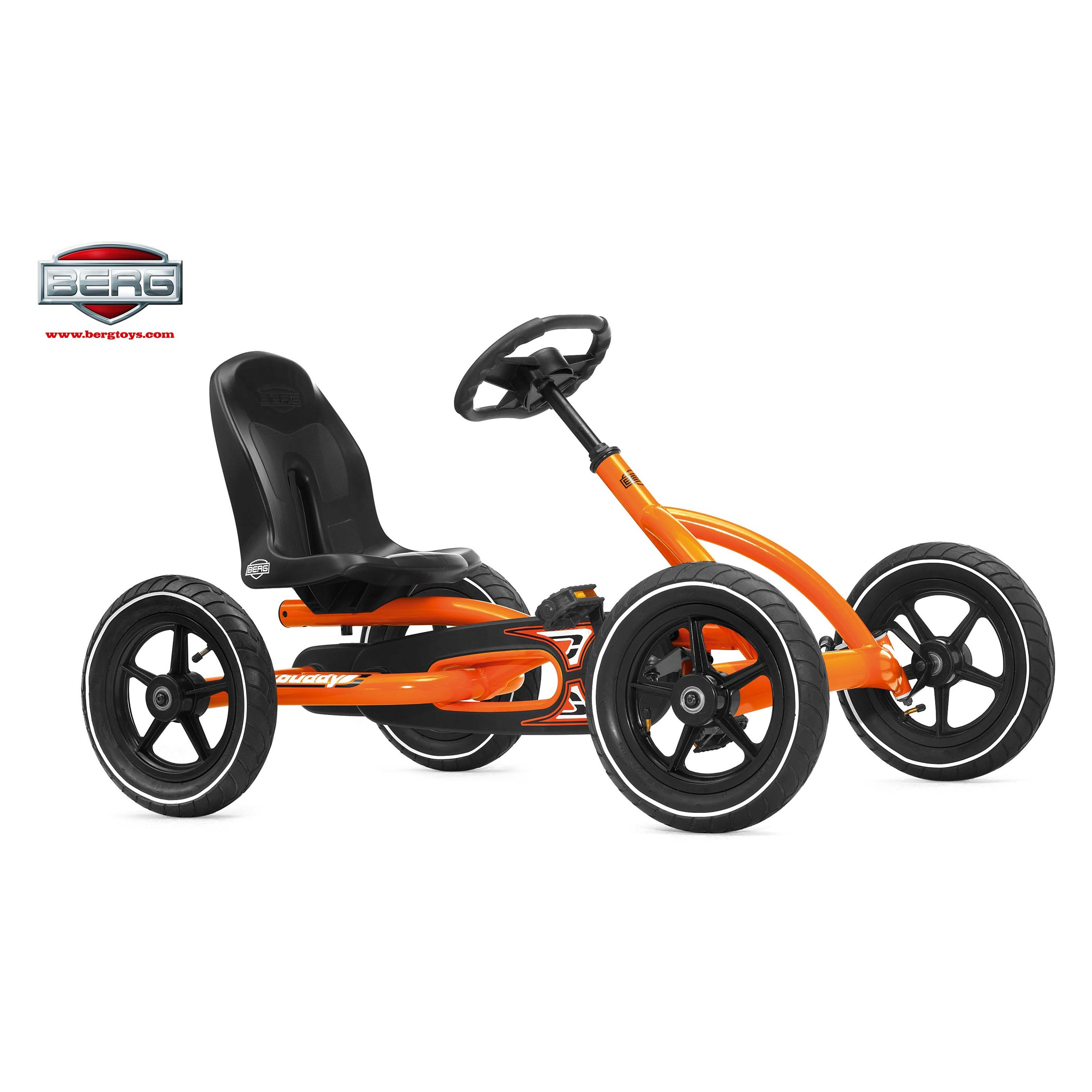 Berg USA Buddy Pedal Go Kart - Orange