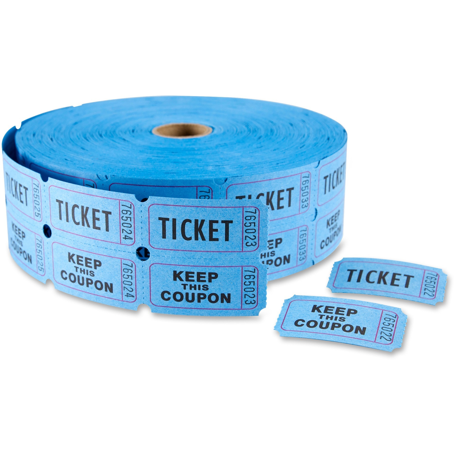 """MACO Double Roll Ticket, """"Ticket/Keep This Coupon"""""""