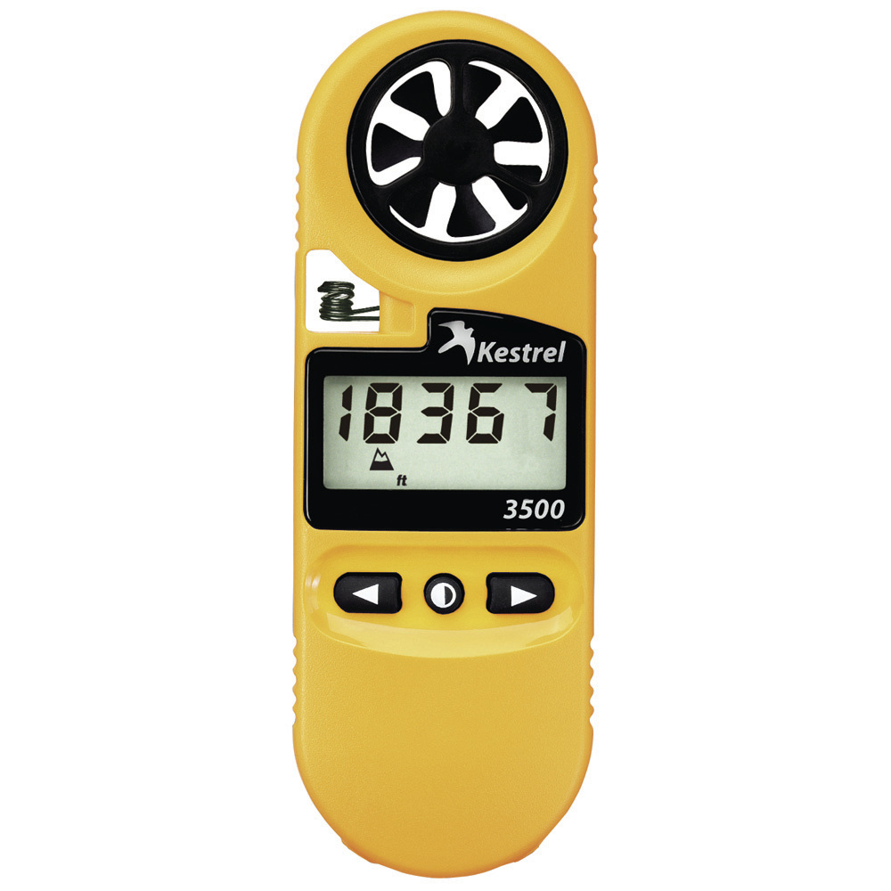 KESTREL 3500 POCKET WEATHER  METER - YELLOW