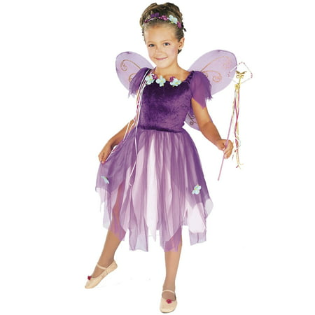 Girl's Plum Pixie Costume - Sugar Plum Fairy Costume