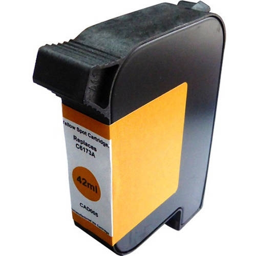 Universal Inkjet Premium Remanufactured HP C6173A Spot Color, Yellow
