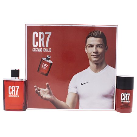 CR7 by Cristiano Ronaldo for Men - 2 Pc Gift Set 1.7oz EDT Spray, 2.6oz Deodorant Stick