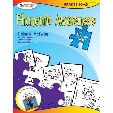 Reading Puzzle: The Reading Puzzle: Phonemic Awareness, Grades K-3 (Paperback) Phonemic Awareness Box
