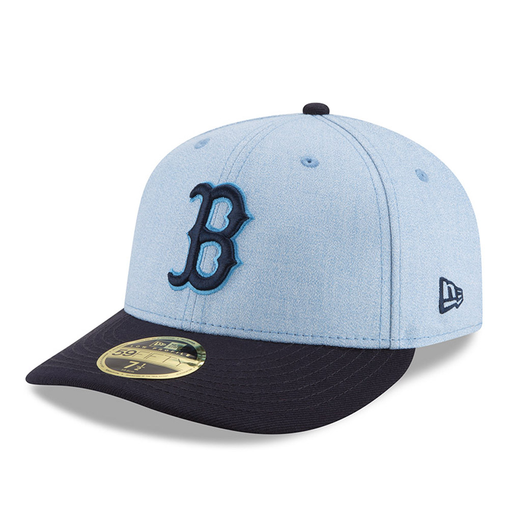 Boston Red Sox New Era 2018 Father's Day On Field Low Profile 59FIFTY Fitted Hat - Light Blue