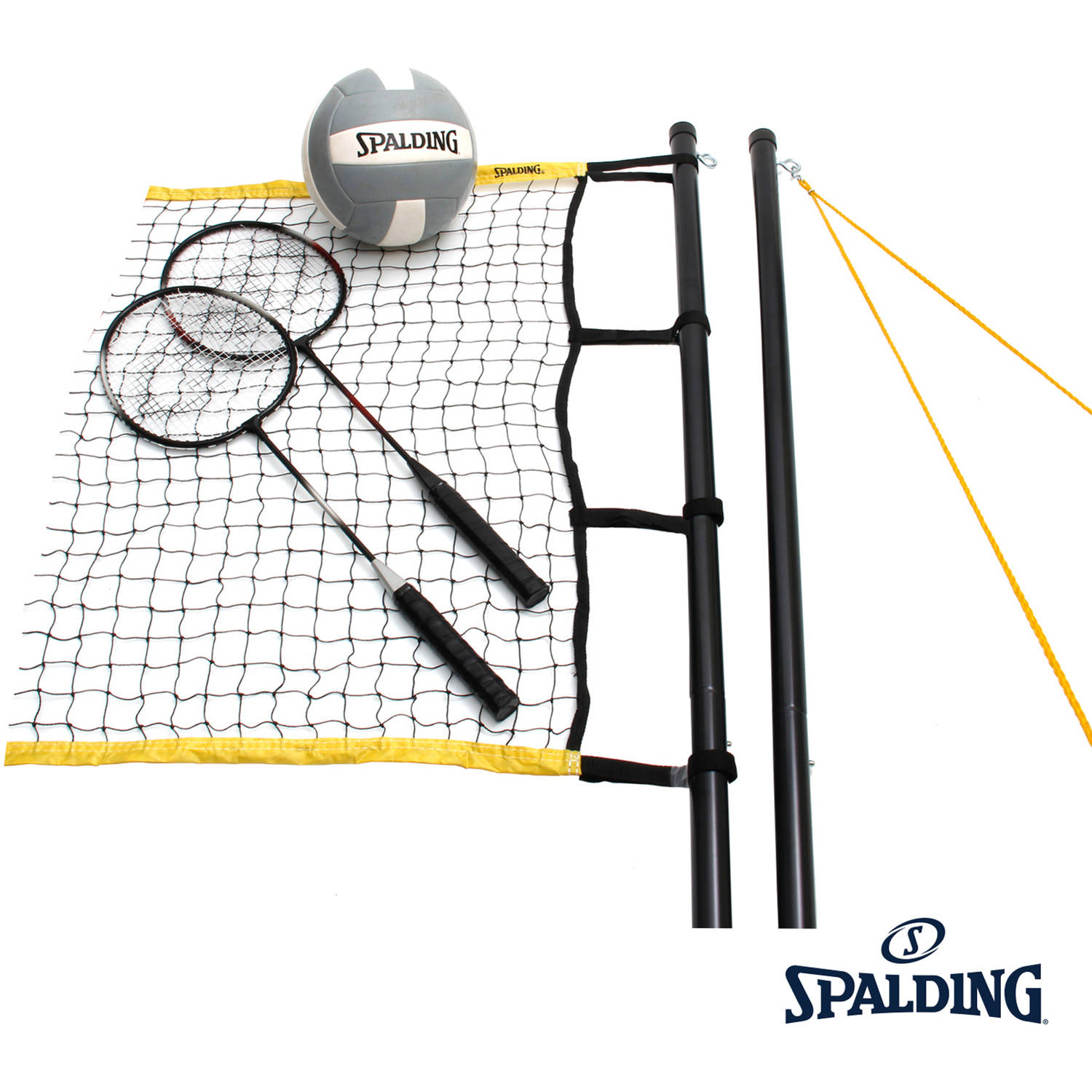 Spalding Premier Volleyball Badminton Combo by Spalding