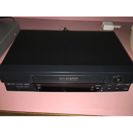 JVC HR-A592U VCR VHS Player Video Cassette Recorder Hi-Fi Stereo 19u No Remote (Jvc Hr Vcr)