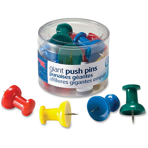 Officemate Giant Push Pins