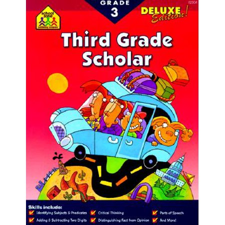 Halloween Songs For Third Grade (Scholar Series Workbooks : 3rd)