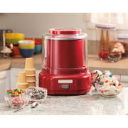 Hamilton Beach 1.5-Qt Ice Cream Maker, Red