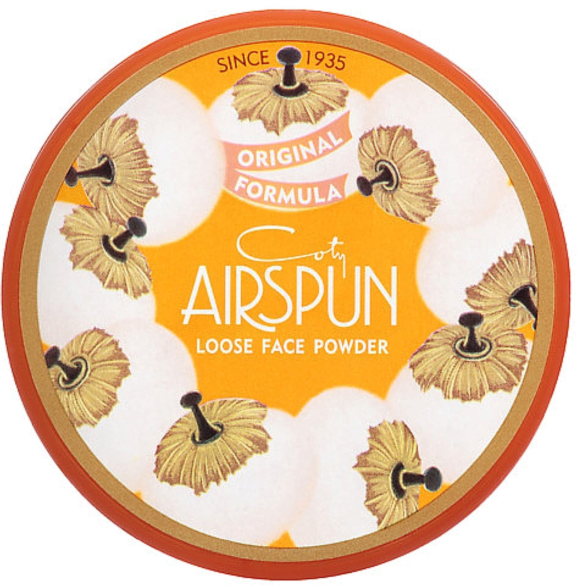 Coty Airspun Loose Face Powder, Honey Beige 2.30 oz (Pack of 4)